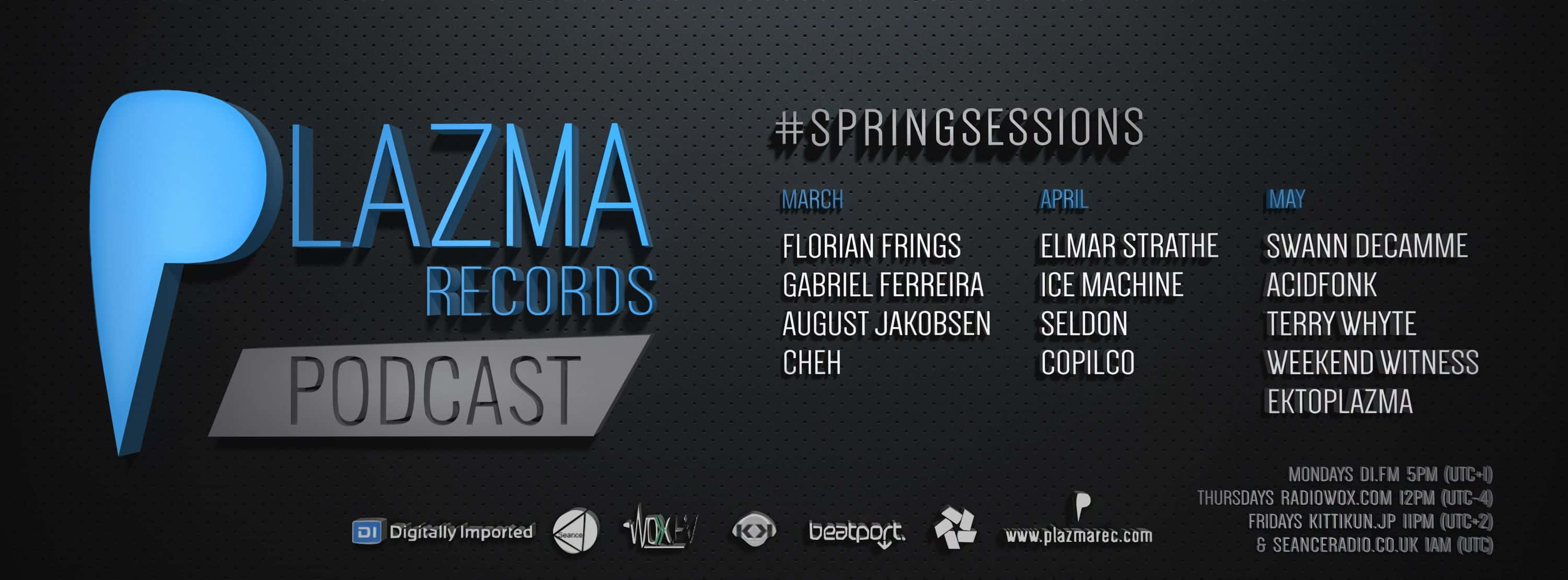 SpringSessions | Plazma Records Podcast