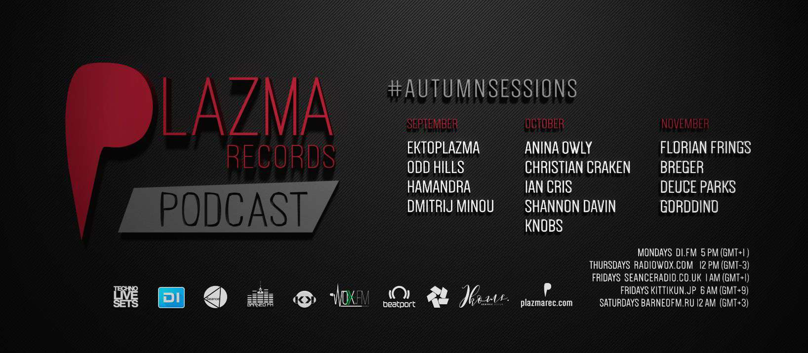 Plazma Records Podcast | Autumn Sessions'17