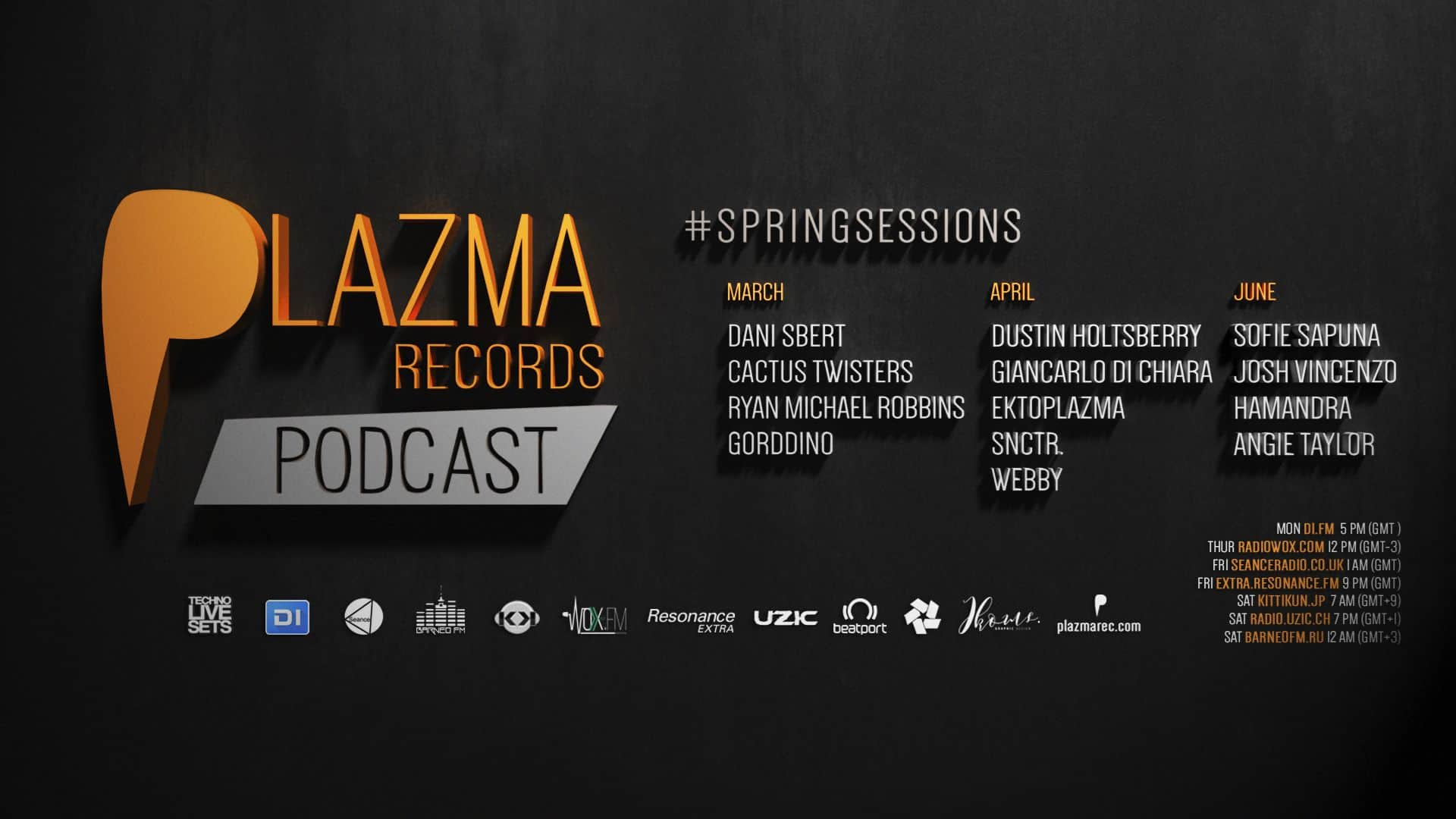 Plazma Records Podcast | Spring Sessions'18