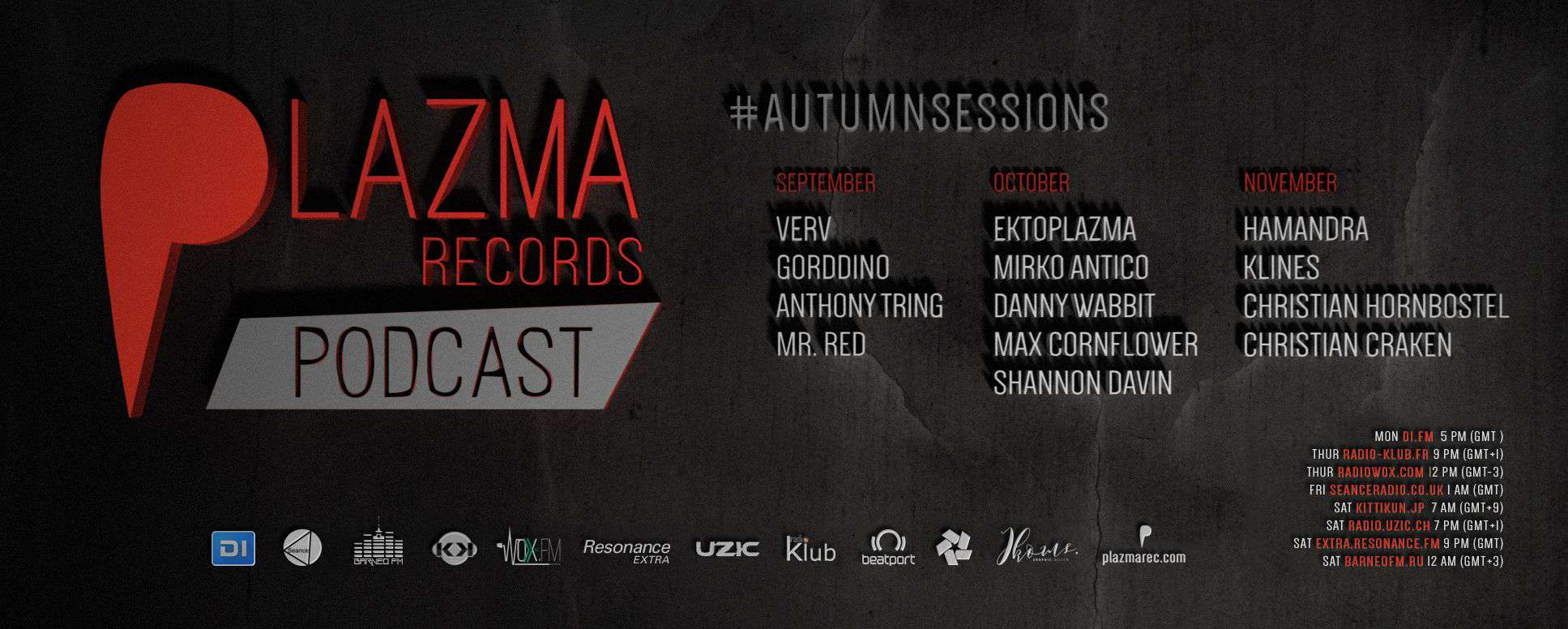 Plazma Records Podcast | Autumn Sessions'18