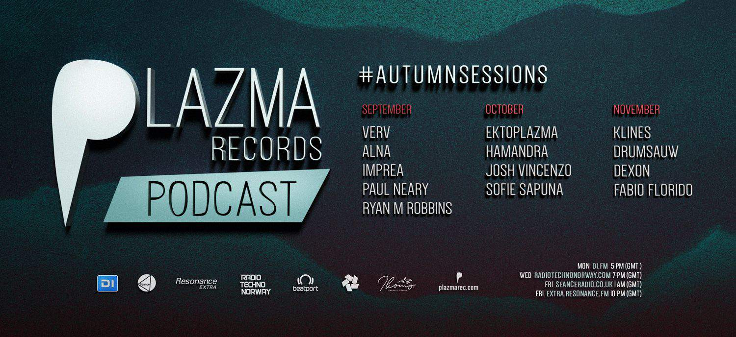 Plazma Records Podcast | Autumn Sessions'19